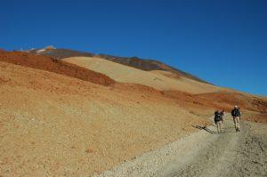 Weitläufige Lavafelder am Teide - Teneriffa