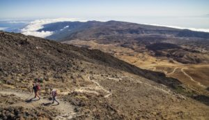 Karge Vulkanlandschaften am Teide - Teneriffa