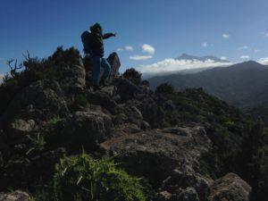 Blick auf den Teide von Teneriffa