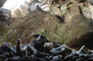 Eishöhle am Fuße des Teide - Teneriffa