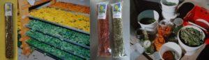 Biologisch erzeugte Heilkräuter
