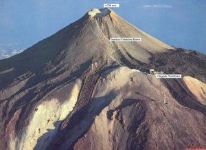 Der Gipfel vom Teide auf Teneriffa