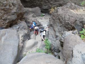 Imposante Felsen in der Mascaschlucht