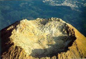 Der Vulkanschlot vom El Teide auf Teneriffa