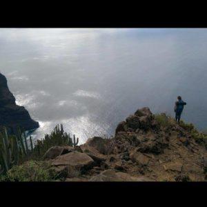 Die Steilküste an der Hochebene Teno Alto
