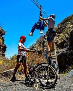 Canyoning Führer, Touren durch die Schluchten